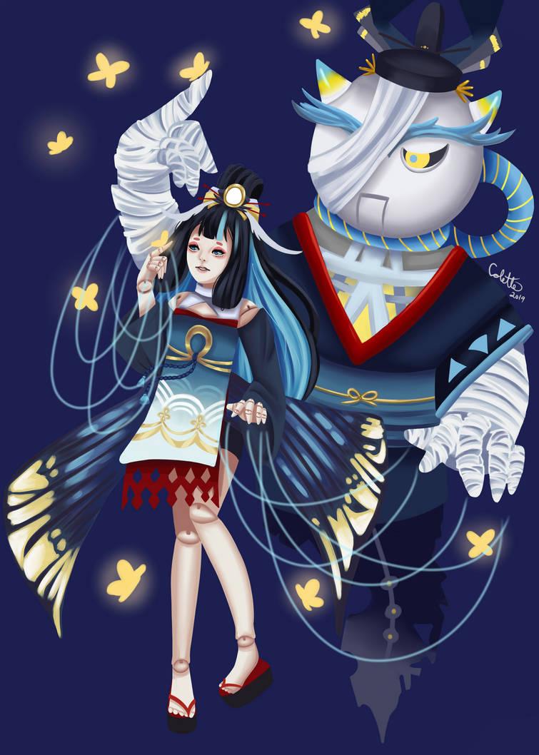 Onmyoji Puppeteer by NakamuraHaru-01