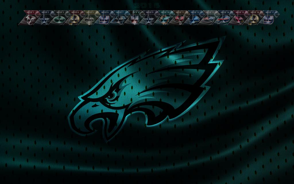 Philadelphia Eagles 2015 wallpaper (with schedule) by EaglezRock on ...