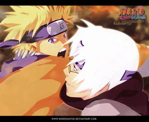 Naruto and Kabuto by kudosan730