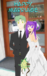 Wedding Couple CGed by connman7