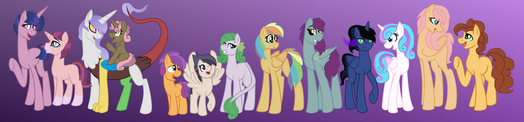 All My Characters! (Complete Next Gen!) by Leanne264