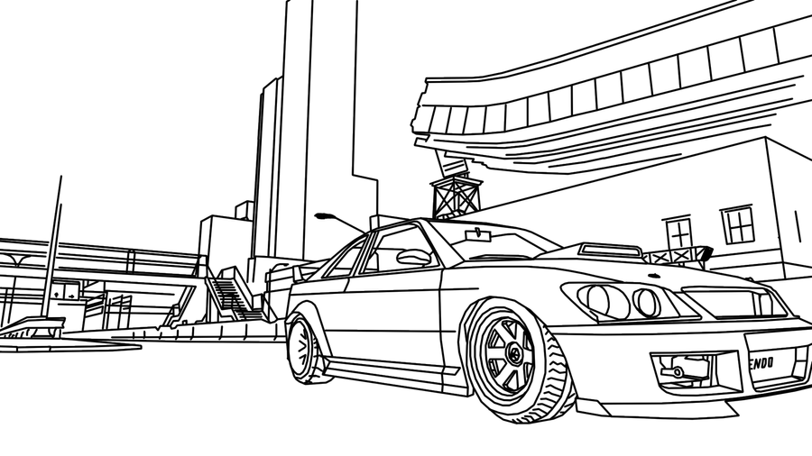 Sultan RS GTA4 tracing no BG by PrfctDrk on DeviantArt
