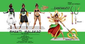 : Shakti Malakar Reference Sheet