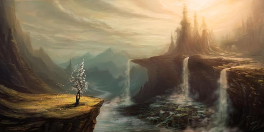 Waterfalls by eddiecalz