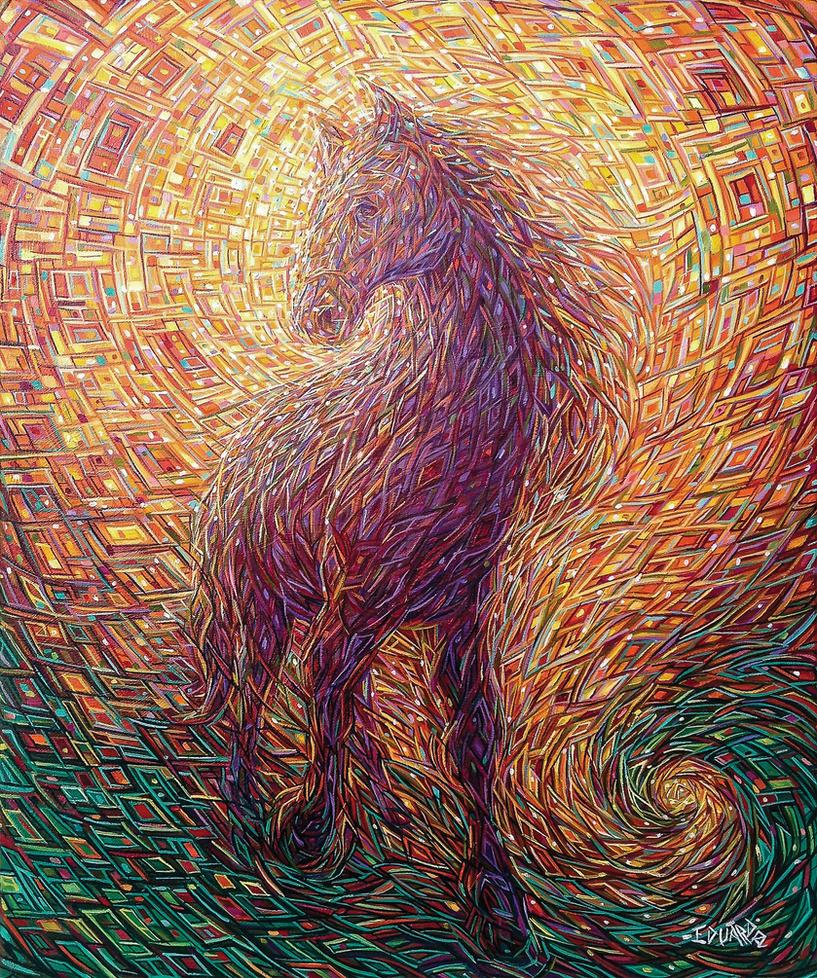 Horse by eddiecalz