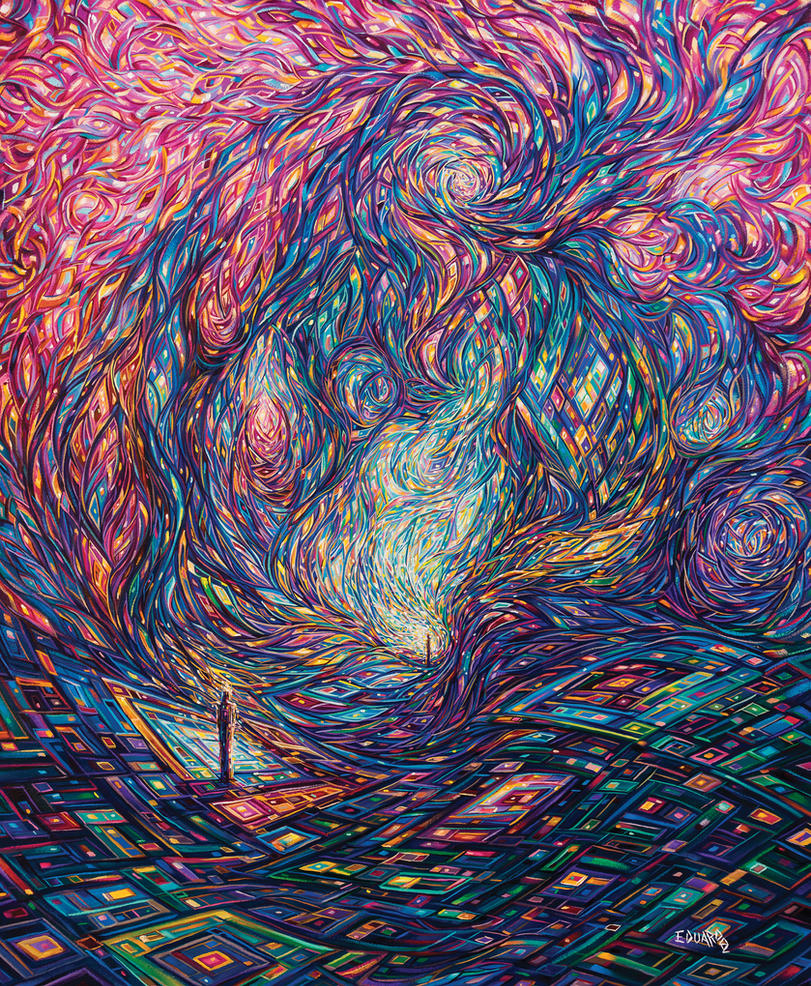 Vortex of Creation by eddiecalz