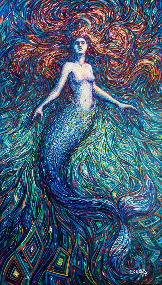 Mermaid by eddiecalz
