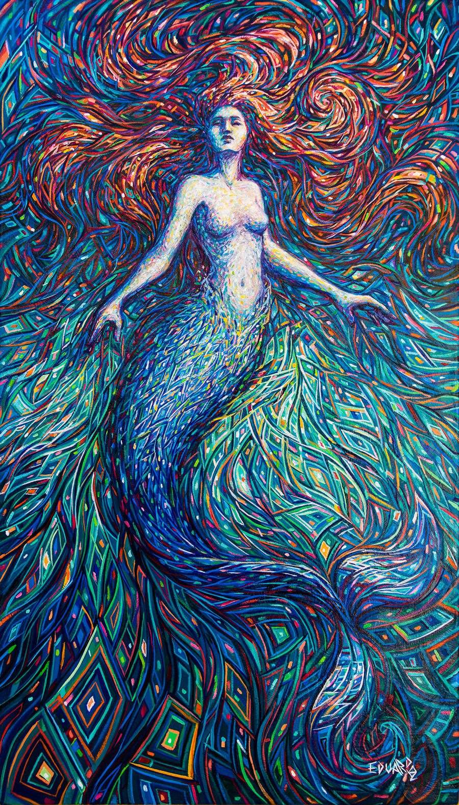 Mermaid by eddiecalz on DeviantArt