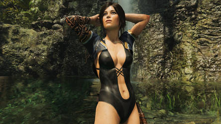 Lara Croft: Shadow of the Naughty Girl #3 by ForceRose