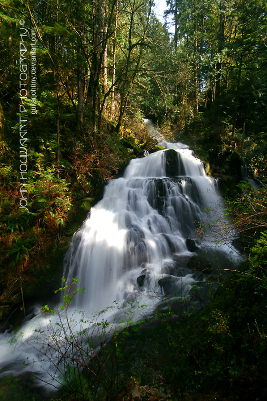 Steelhead Falls by guitarjohnny