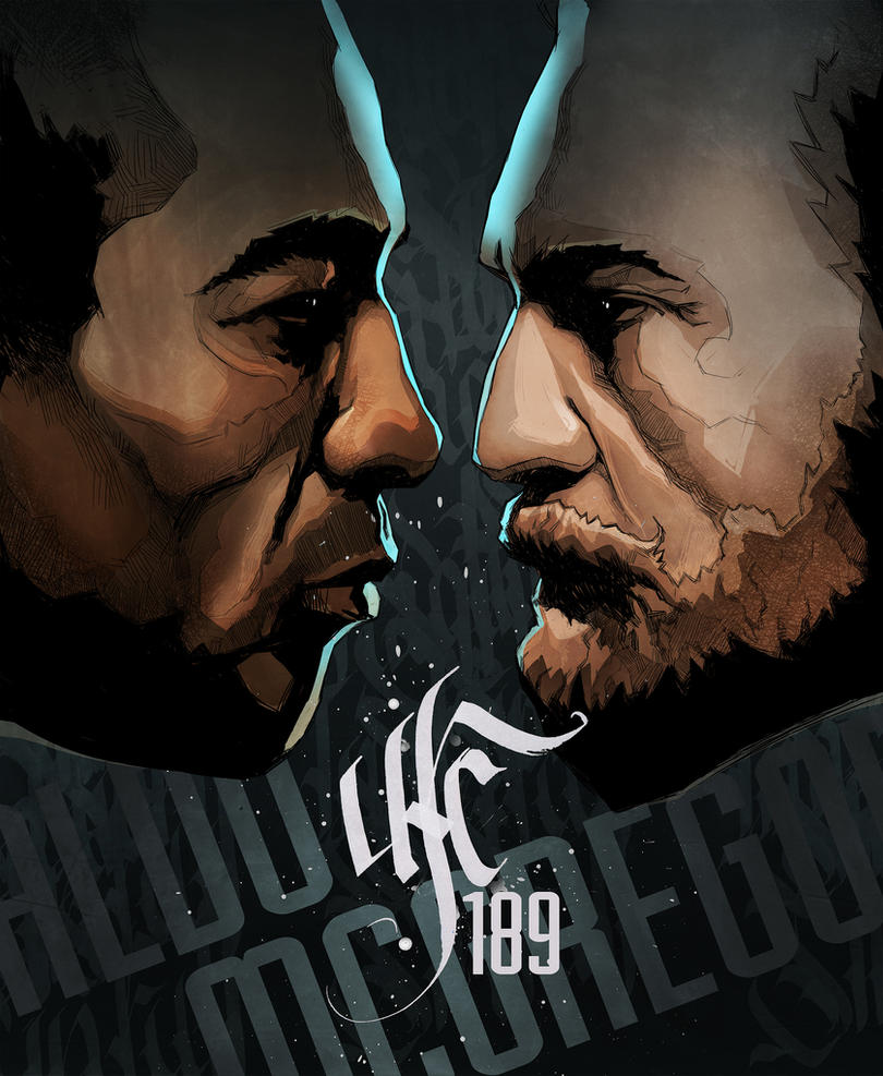 UFC 189 by PENSA