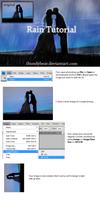 Rain Photoshop Tutorial: Part 1 by thundybear