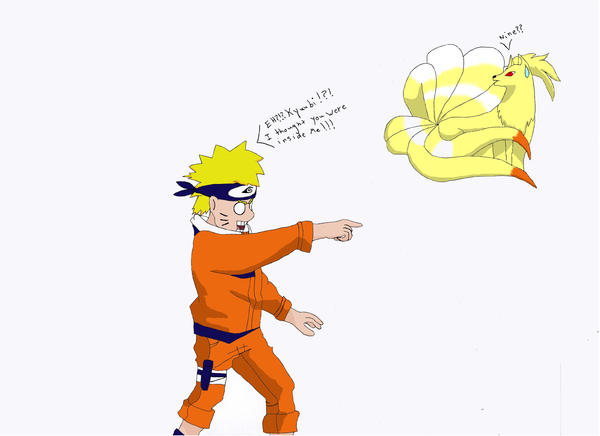 when does naruto first meet the nine tails