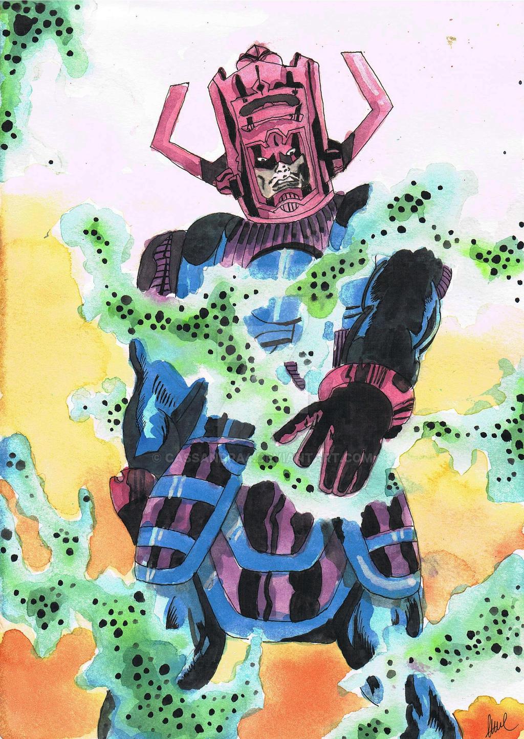 Galactus by cassandra4