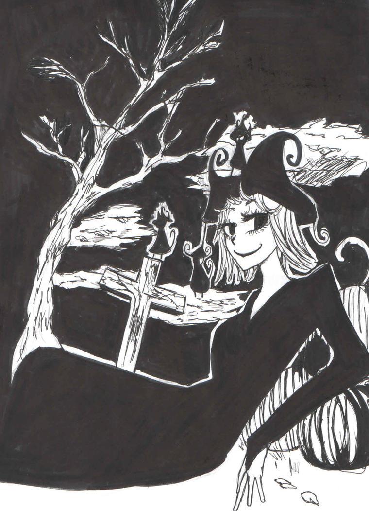Black Witch by Guiyuki