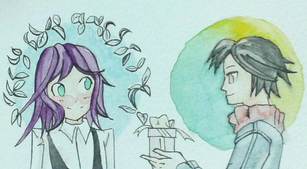 Random Watercollor 1 by Guiyuki