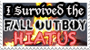 'I Survived the Fall Out Boy Hiatus' Stamp by Sherman-WIP