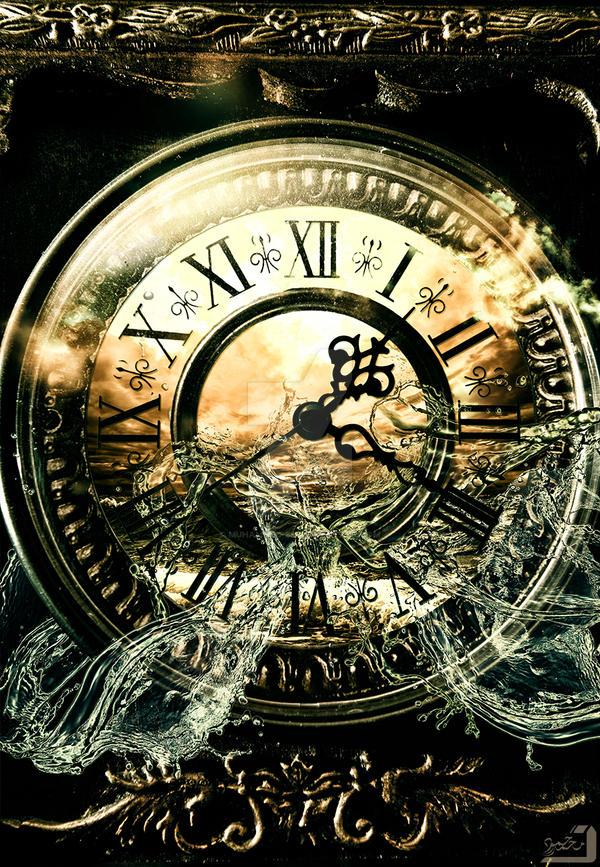 the sea clock by Muhammed-SH