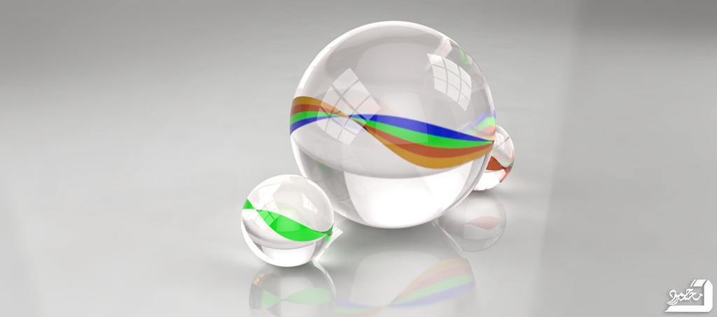 glass ball 3d by Muhammed-SH