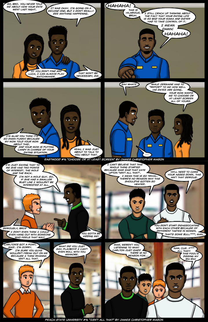Eastwood #16 and Peach State University #16 by J-Mace