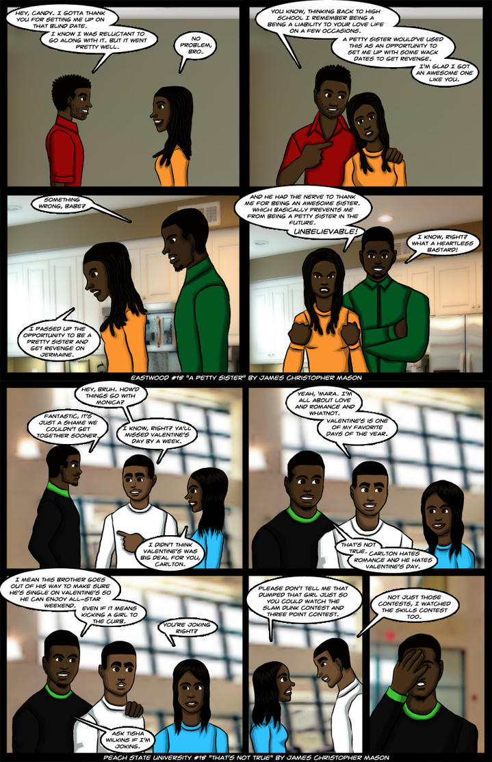 Eastwood #18 and Peach State University #18 by J-Mace