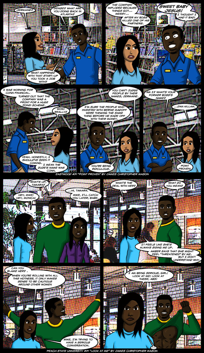 Eastwood #31 and  Peach State University #31 by J-Mace