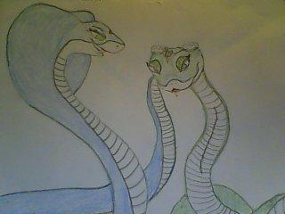 The Maharani Shanti and Master Viper by Budzillakingofbeer