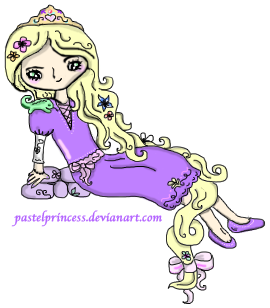 Tangled Rapunzel by pastel-princess