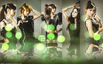 Kara - green lights by Sweetkrystyna