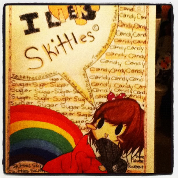 Skittles by ThisCrazyAsian