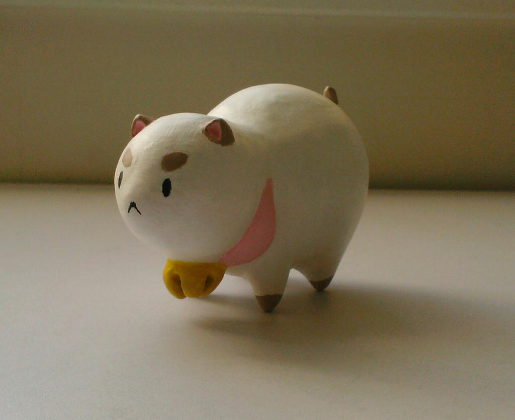 ceramic puppycat by AlexisM96