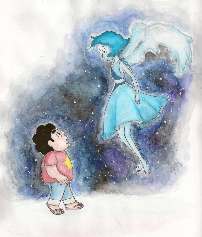 Steven and Lapis Lazuli (c) Steven Universe