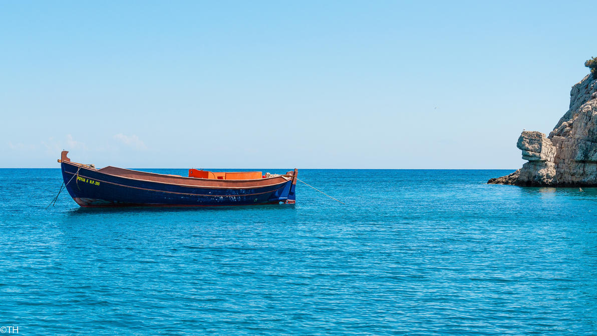 Boat by Zajdaz