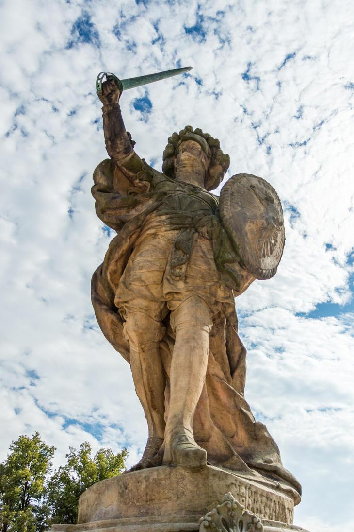 Warrior of Christianity by Zajdaz