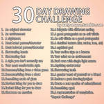 30 Day Art Challenge Reference