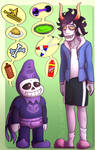 fandom sweethearts [ HOMESTUCK x UNDERTALE ] by reylikescookies