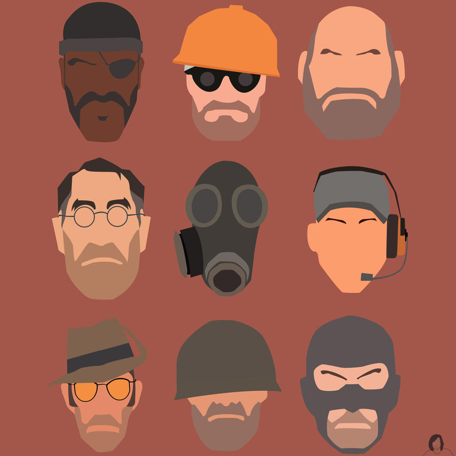 TF2 Characters by Naqphotos