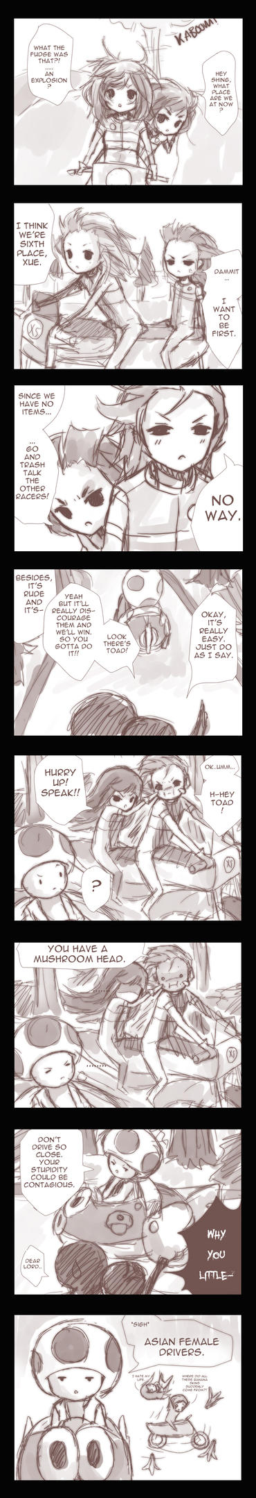 Relay Comic Part 3 ft. Xue by Shingaka