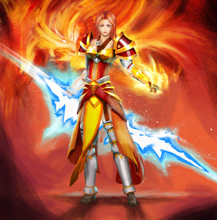 lina inverse reversed by nders on deviantart