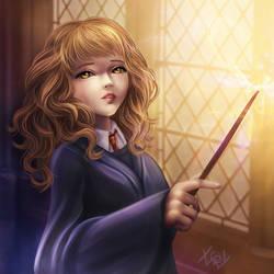 Hermione Granger - Harry Potter by IraIVORY