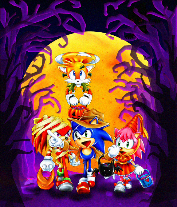 Halloween Adventure.Sonic S Halloween Adventure By Tri Jean On Deviantart