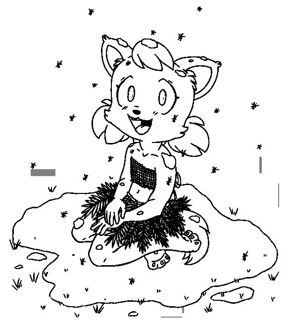 AbbiMortiChild-lineart by Tri-Jean