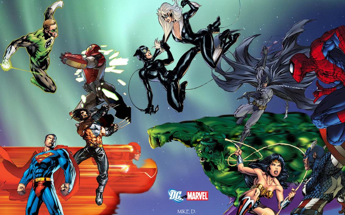 DC Vs Marvel JAM By Xionice