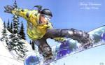Aspen Snowboarding by M Turner