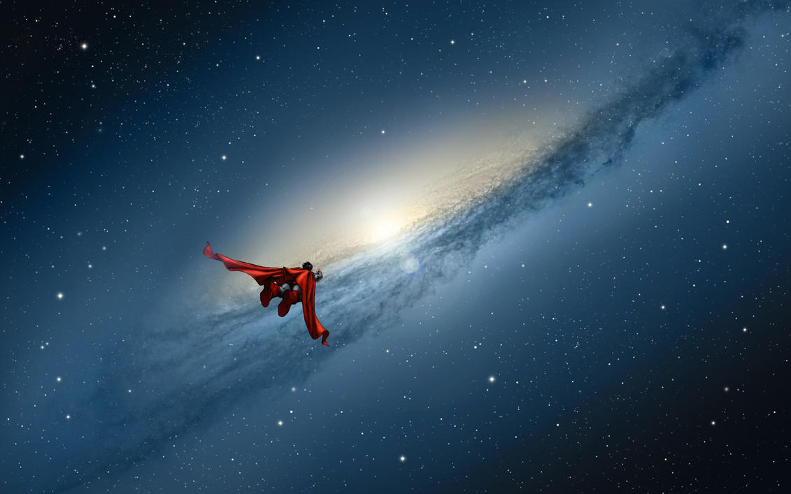 Mountain Lion Galaxy Superman by Xionice