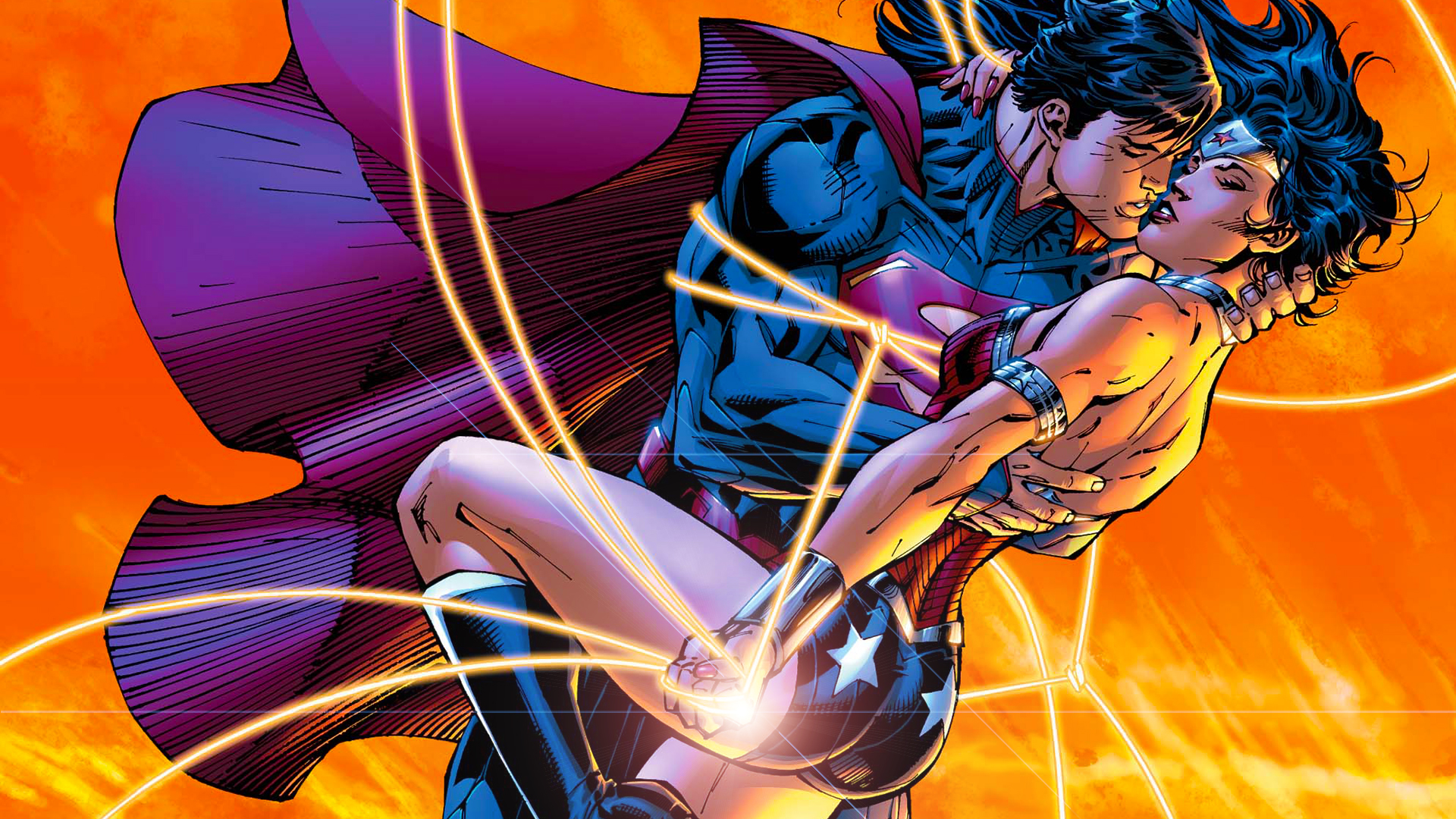 Superman/Wonder Woman by Xionice on deviantART