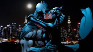 Batman/Catwoman Kiss by Xionice