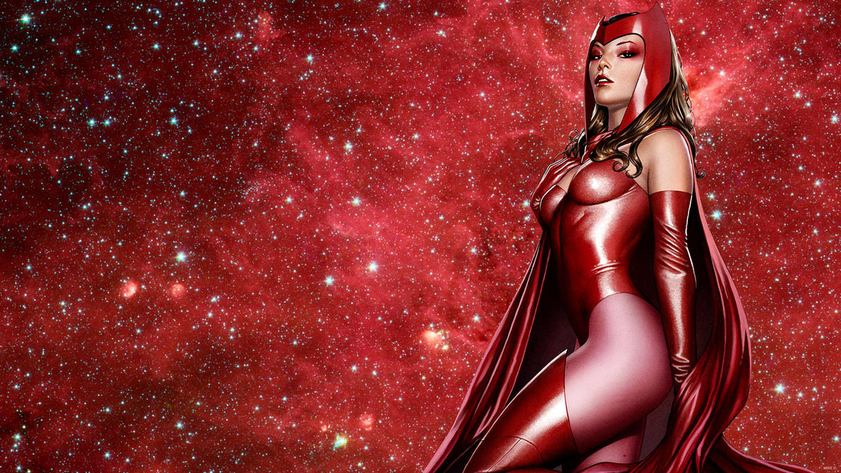 Simple Wallpaper Marvel Scarlet Witch - scarlet_witch_by_xionice-d860q2x  Collection_578365.jpg