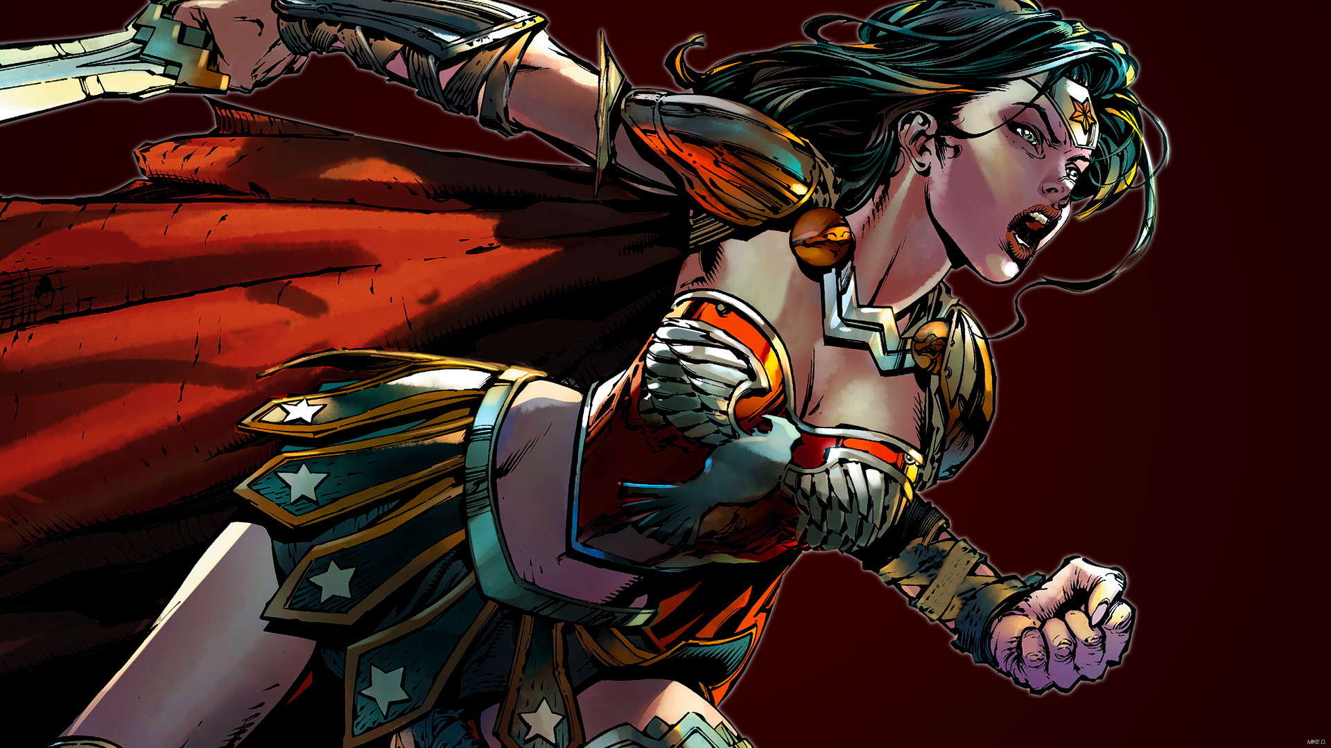Wonder Woman (Red) by Xionice