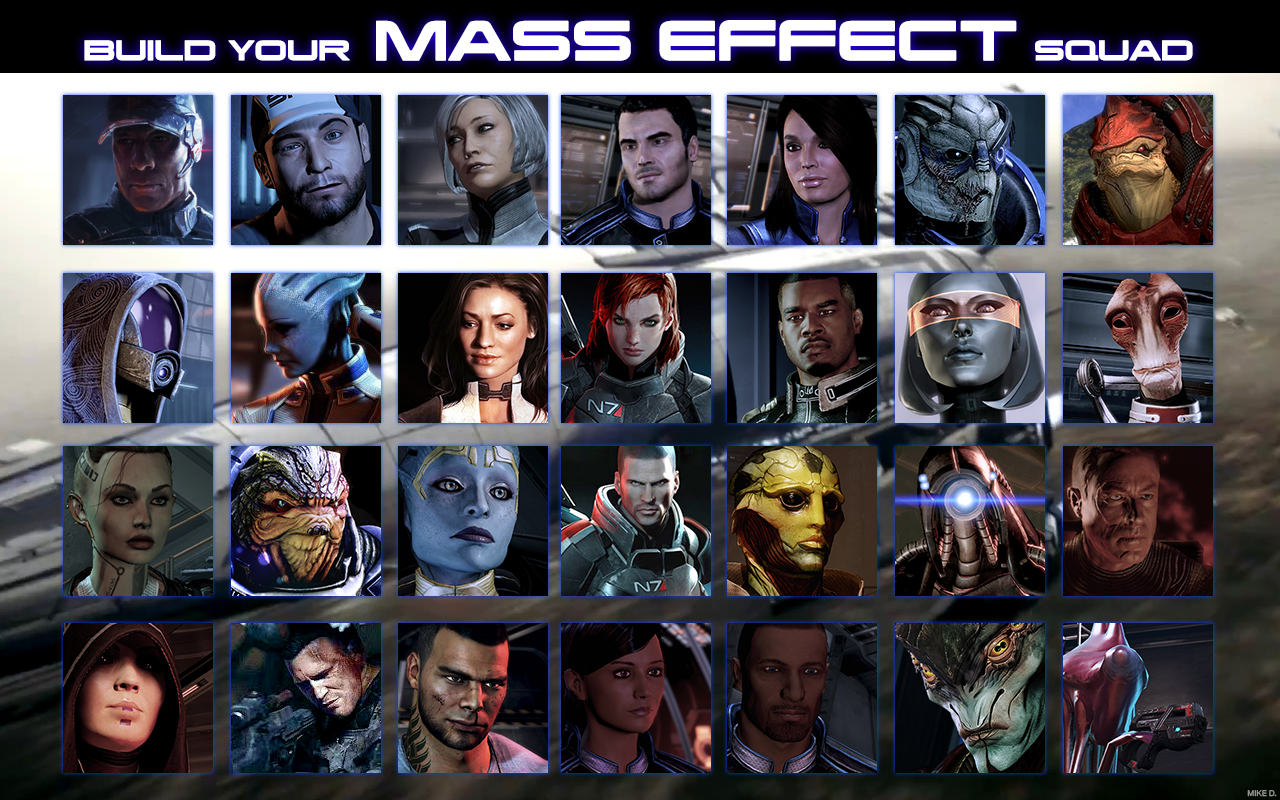 how to change squad mass effect